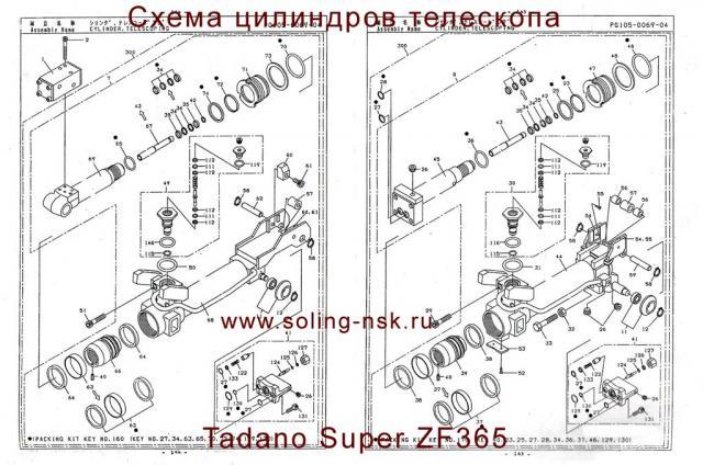 Схема (чертеж) - цилиндров